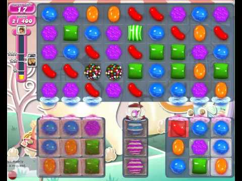 Candy Crush saga level 340 strategy to pass No Boosters - YouTube