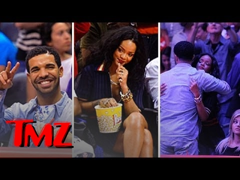 Rihanna & Drake -- SEPARATED!