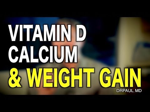Vitamin D & Calcium: How They're Related To Obeisity & Weight Gain