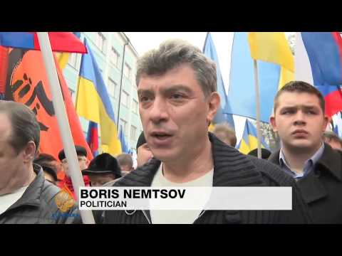 Thousands attend anti-war protests in Moscow