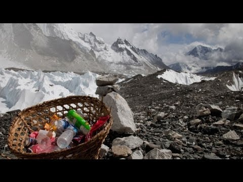 Mt. Everest Climbers Must Bring Back Garbage