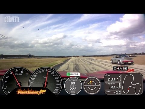Fastlane Z06 Corvette - Texas World Speedway (clip 2)