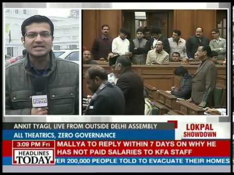 Free for all in Delhi Assembly, Speaker heckled