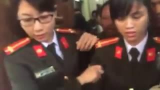 Công an huyện Mỹ Đức TP Hà Nôi Đan áp nhân dân xã Đồng Tâm để lấy đất