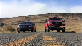 Mashed-up Match-up #1: GMC Sierra 3500 Dually vs. Hyundai Sonata videos