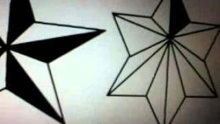 Desenhos, Três Tipos De Estrela