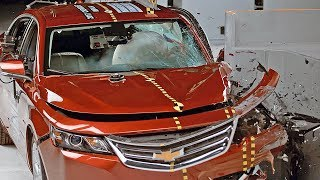 Chevrolet Impala (2017) CRASH TEST. YouCar Car Reviews.