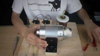 Jet Engine Homemade 2.0   Complete Setup