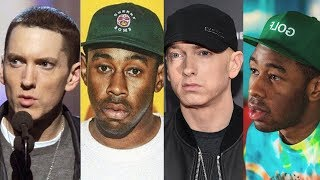 Tyler The Creator‏ Disses Eminem Walk on Water