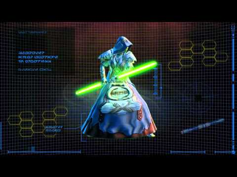 Star Wars: The Old Republic - Jedi Consular Armor Progression