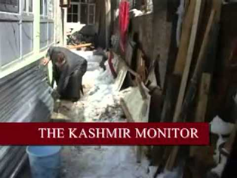 Heavy water-logging in Srinagar city
