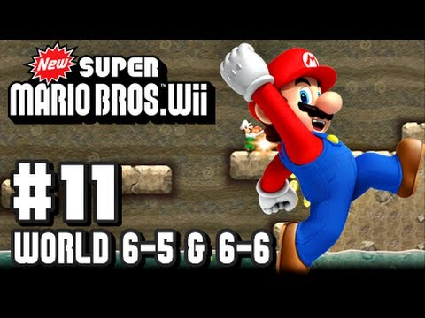 New Super Mario Bros Wii - Part 11 - 6-5 & 6-6