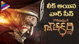 Gautamiputra Satakarni Movie WAR SCENE Leaked | Balakrishna | Shriya