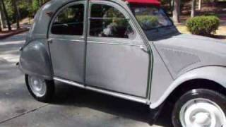 1957 CITROEN 2CV COMPLETELY ORIGINAL..RESTORED BY MG MOTORING video #3