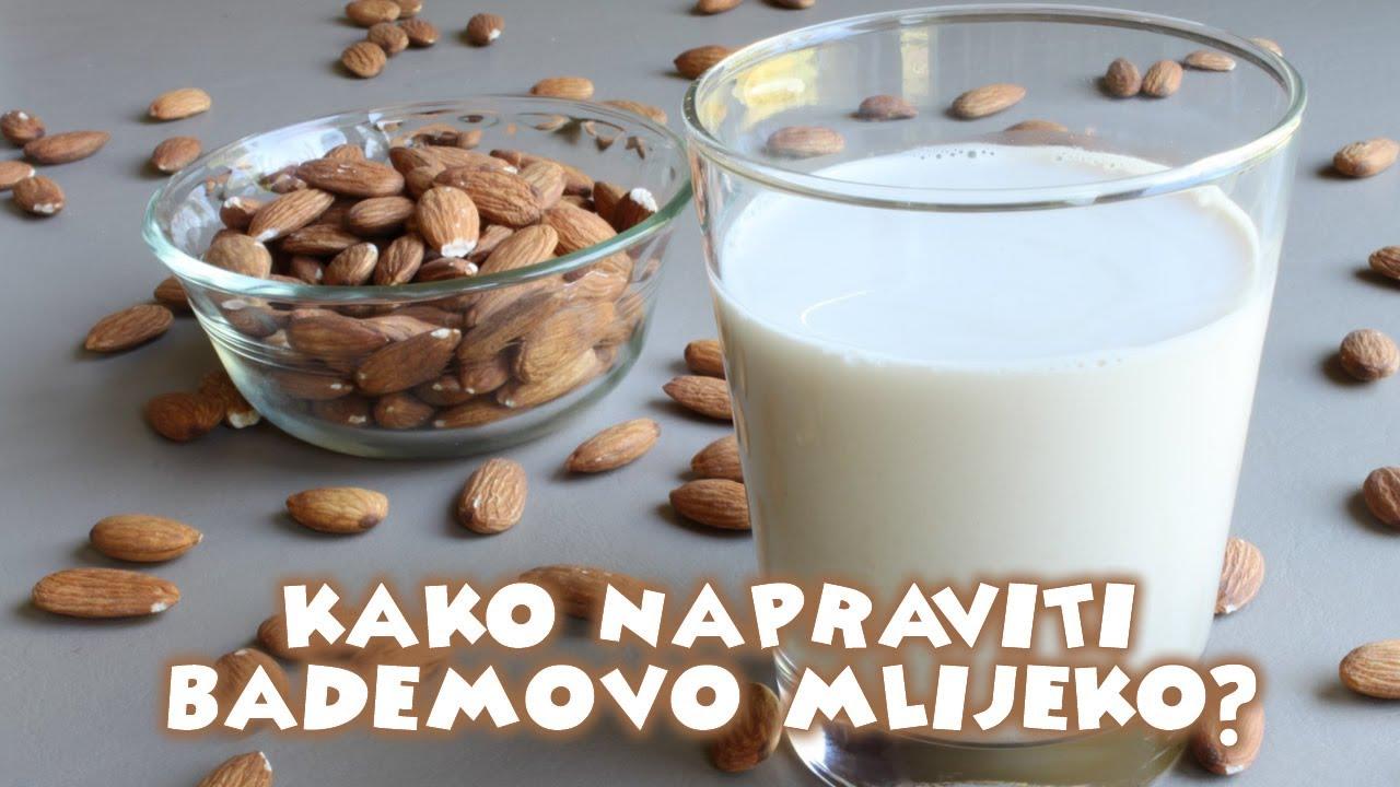 Kako napraviti bademovo mlijeko? - YouTube