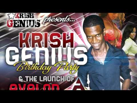 Krish Genius Bday Party & Aeg Launch – April 22, 2014 Big Bridge, Sav, Westmoreland | Reggae, Dancehall, Bashment