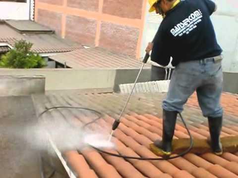 Limpieza de techos tejas MANSERCOM PERU 450-3926 / 41*654*1928