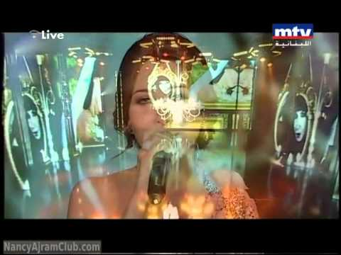 Nancy Ajram Hkayat El Deni in Murex D'Or 2011