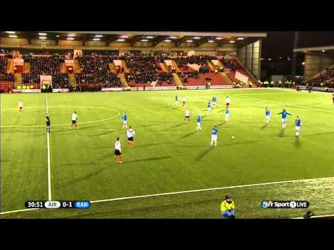 Scottish League 1 - Airdrieonions vs Rangers - 2014/02/01 - First Half FULL