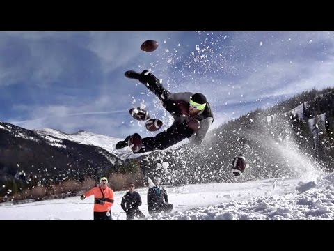 Snow Day Battle | Dude Perfect