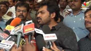 Biriyani' Team Lodges a Complaint   Venkat Prabhu, Yuvan, Karthi, Premji, Hansika   Songs