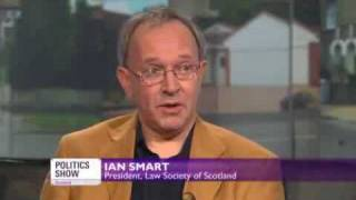 Law Society President Ian Smart v Govan Centre's Mike Dailly on Legal Services Bill reforms