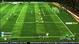 America Vs Pachuca Liga MX 2014 @ FIFA 15 @ PS3 HD