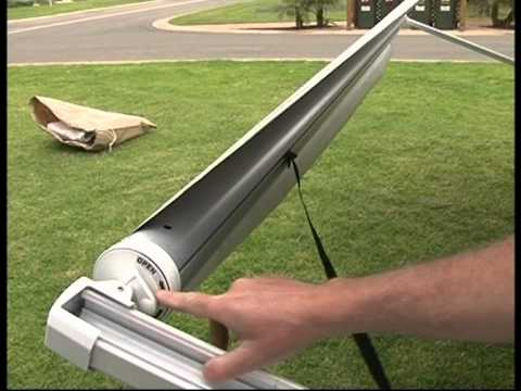 Setting Up A Roll Out Awning Amp Annex For Jayco Vans Youtube