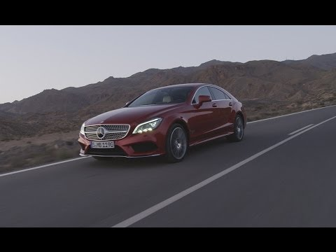 Mercedes-Benz TV: the new generation CLS Coupé