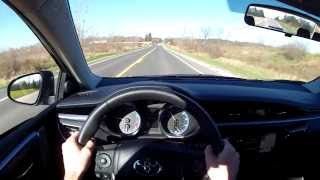 2014 Toyota Corolla S WR TV POV Test Drive