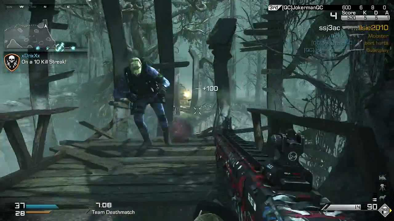 Cod ghosts my michael myers gameplay youtube