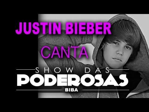 Justin Bieber canta