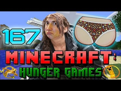 Minecraft: Hunger Games w/Mitch! Game 167 - Butts!