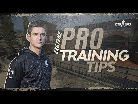 G2 Ex6TenZ - CS:GO Pro Training Tips