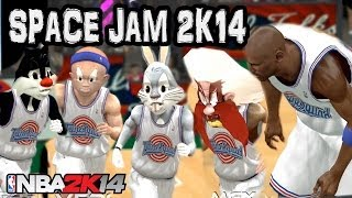Space Jam NBA 2K14 Mod The Ultimate Game HD