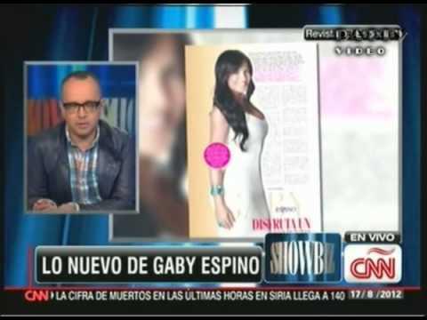 Showbiz cnn espanol tema lo nuevo de gaby espino youtube - Lo ultimo en electrodomesticos ...
