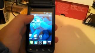 Motorola ANDROID FLIP PHONE Part 2!