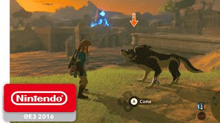 The Legend of Zelda: Breath of the Wild - Wolf Link amiibo Trailer - Nintendo E3 2016