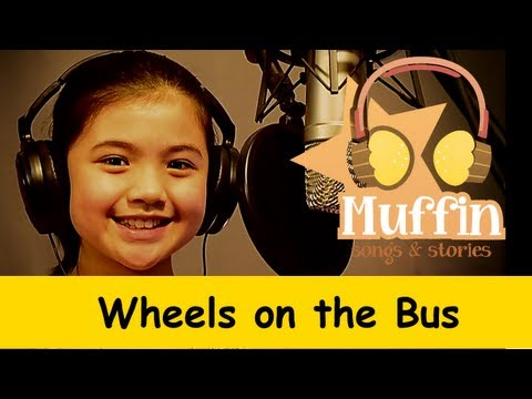 Wheels On The Bus  | nursery rhymes & children songs with lyrics