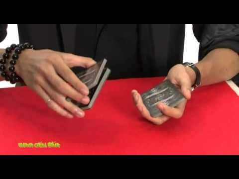 Học ảo thuật  Kỹ thuật tráo bài giữ nguyên vị trí các cây