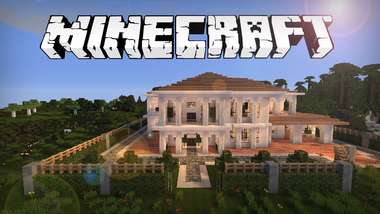 Minecraft mansion download the image for Minecraft modernes haus download 1 7 2