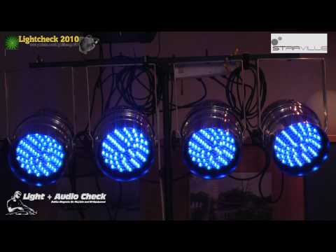 Video Check  - Stairville LED Par 64 10mm RGB
