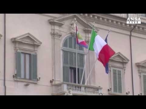 Napolitano-Renzi, incontro su sorti governo - ANSA