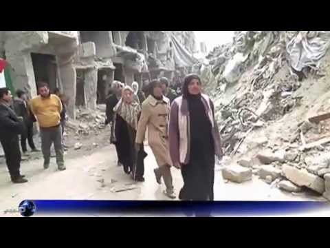 Yarmouk Refugee Camp in Syria