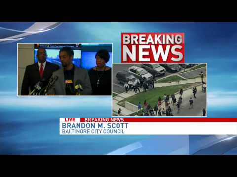 Baltimore Mayor Rawlings-Blake press conference on riots
