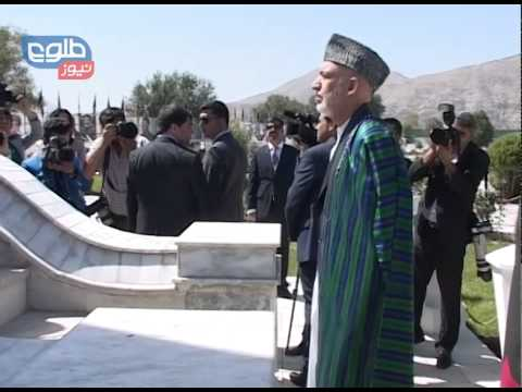 Karzai Marks Afghanistan's 95th Independence Day image