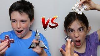 FIDGET SPINNER vs FIDGET SPINNER!!