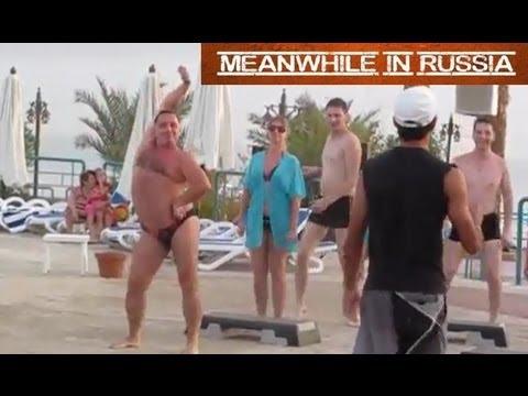 image vidéo un gros russe qui danse bien