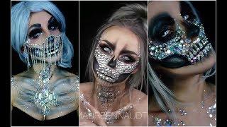 Calavera Sexy   Skull Glam 💀TOP INCREÍBLES MAQUILLAJES 💀💀 Best Halloween Makeup #2