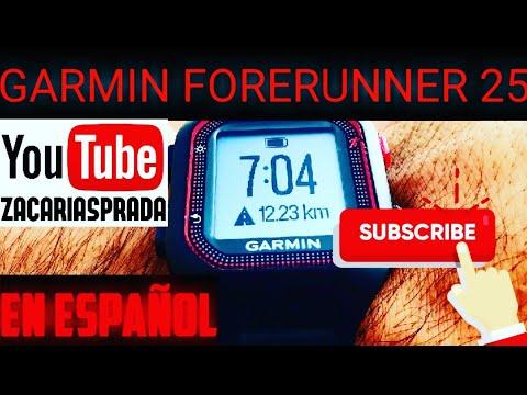 REVIEW GARMIN ARGENTINA FORERUNNER 25 RELOJ CON GPS EN ESPAÑOL UNIVERSOGYM